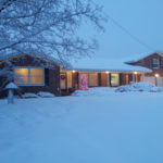 house with holiday lights and snow | the DAWN Method